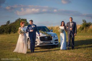 Svatební vozy Jaguar Land Rover