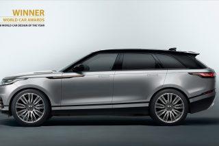 Range Rover VELAR se stal vítězem!