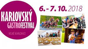 Karlovský gastrofestival Velké Karlovice 2018